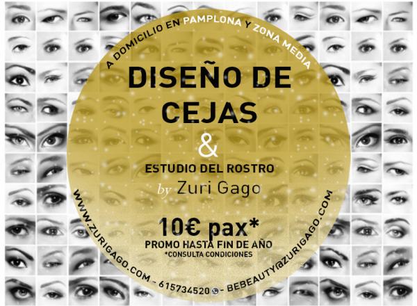 Diseño de cejas Pamplona