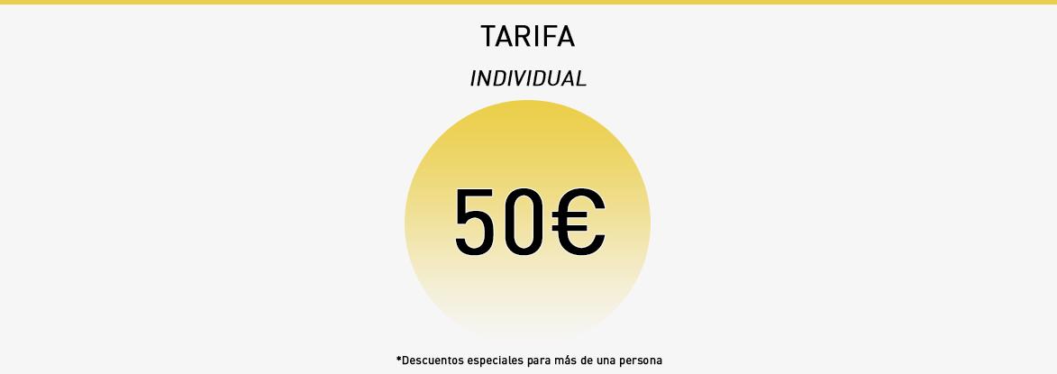 Tarifa Maquillaje